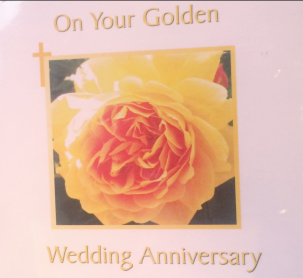 On Your Golden Wedding Anniversary